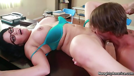 Sophia Lomeli & Billy Hart in My First Sex Teacher